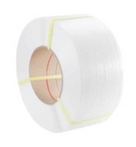 TENSO 12 x 0.63mm x 2500m White PP Strapping (280/190)