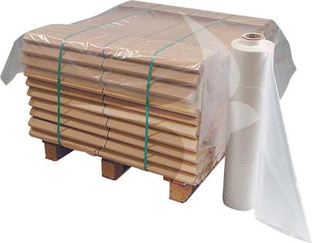 1300 x 1700mm Heavy Duty Clear Pallet Top Sheet (150/Roll)