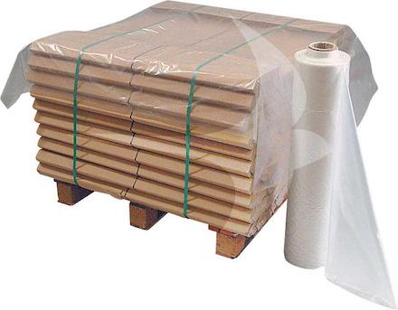 900/1800 x 1800mm Light Duty Clear Pallet Top Sheets (200/Roll)