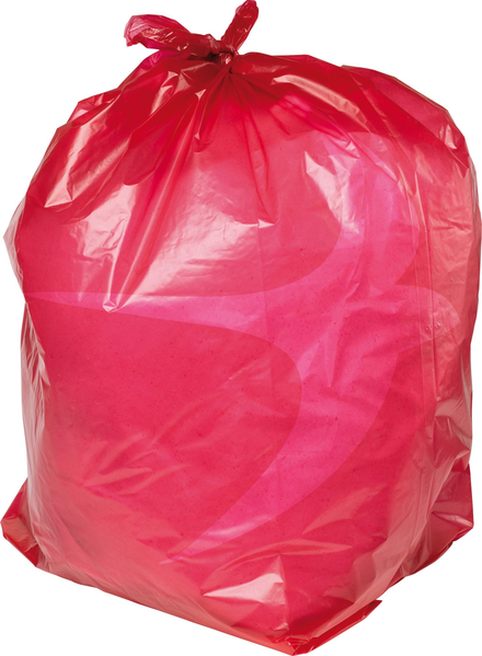 PRO-SAC 450/732 x 990mm Red Refuse Sacks
