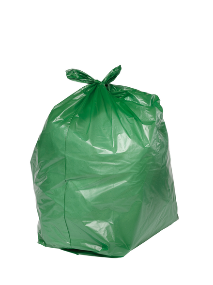 PRO-SAC 450/732 x 990mm Green Refuse Sacks