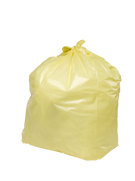 PRO-SAC 450/732 x 990mm Yellow Refuse Sacks