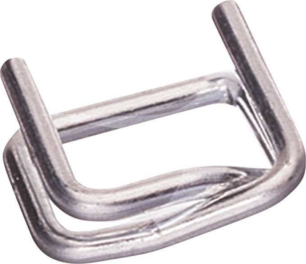 19mm Galvanised Metal Buckles
