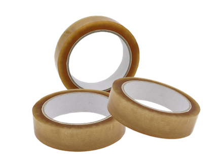 25mm x 66m Clear PP Tape Solvent