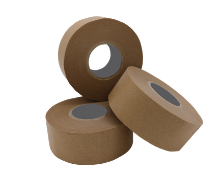"SUPATAK 48mm x 33m Kraft Self Adhesive Reinforced Paper Tape (2"" Core)"