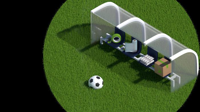 football bench