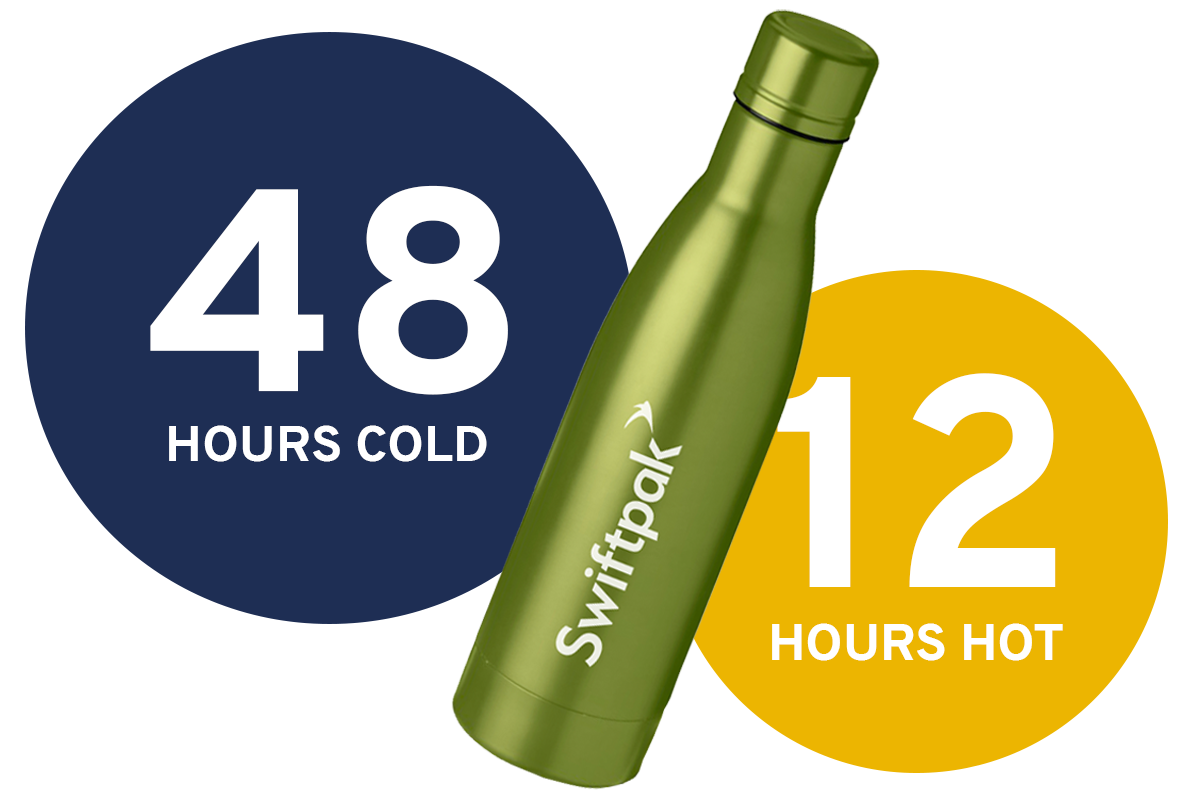 Swiftpak insulated bottle